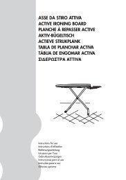 asse da stiro attiva active ironing board planche à repasser active ...