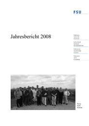 Jahresbericht 2008 - FSU