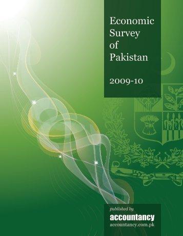 Economic Survey of Pakistan 2009-10 - Accountancy