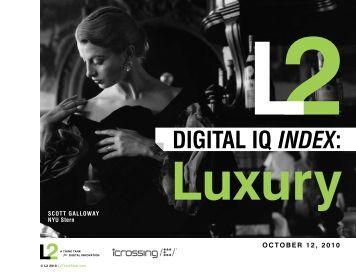 Luxury Digital IQ - Rackspace Hosting