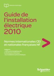 Normes internationales CEI et nationales ... - Schneider Electric