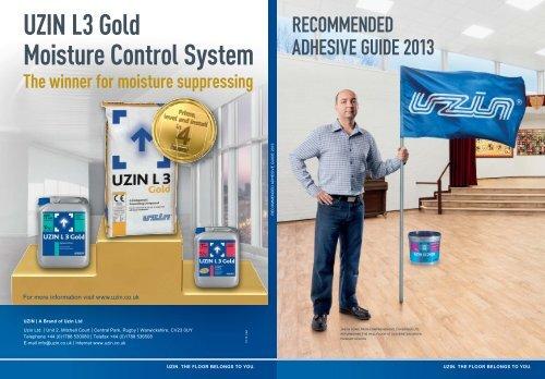 Uzin L3 Gold Moisture Control System