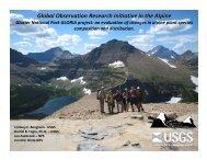 Glacier National Park GLORIA Project - Montana Native Plant Society