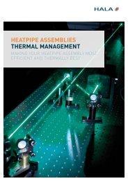 heatpipe assemblies thermal management - HALA Contec GmbH ...