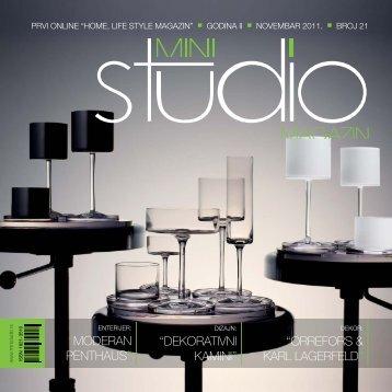 moderan penthaus - Mini Studio Magazin