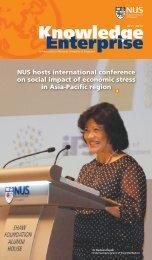 NUS hosts international conference on social impact of economic ...