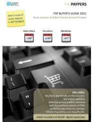 PSP Buyer's Guide 2011 - The Paypers