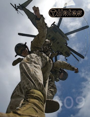 Yates Military Tactical Catalog 2009 (pdf) - Rescue Response Gear