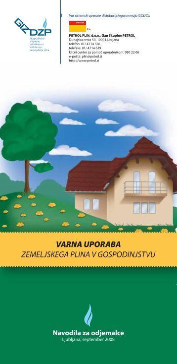 Varna uporaba ZP v gospodinjstvu - Petrol