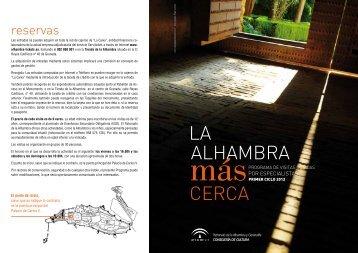 Descargar programa - Alhambra y Generalife