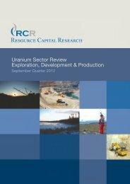 Resource Capital Research - Money Talks