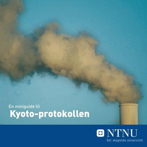 En miniguide til Kyoto-protokollen (pdf-fil)