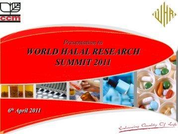 Halal Pharmaceutical Standard - Halal Industry Development ...