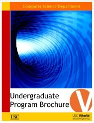 Undergraduate Program Brochure - METU Computer Engineering