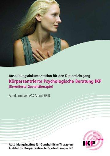 Körperzentrierte Psychologische Beratung IKP - IKP Institut