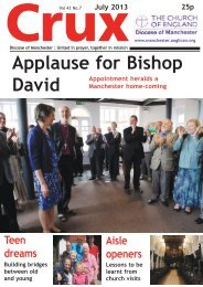 July 2013 - The Diocese of Manchester