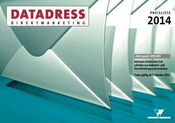 Datadress Mediadaten - vereinigte-fachverlage.info