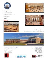 New High Schools Wise County, Virginia Design and Construction ...