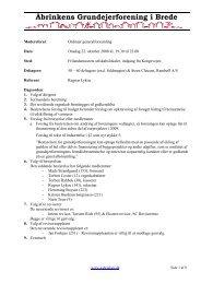Referat fra ordinær generalforsamling, 22. oktober 2008 - Åbrinkens ...