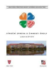 Výroční zpráva 2011/2012 - Extranet - Kraj Vysočina
