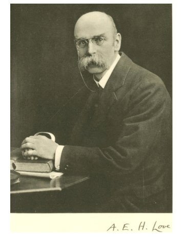 Prof. Augustus Edward Hough Love - Shell Buckling