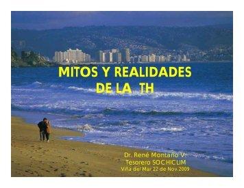 MITOS Y REALIDADES DE LA TH