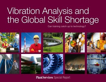 Vibration Analysis and the Global Skill Shortage - Plant Services