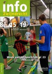 Week van de Sportclub, p. 23 - Gemeente Zwijndrecht