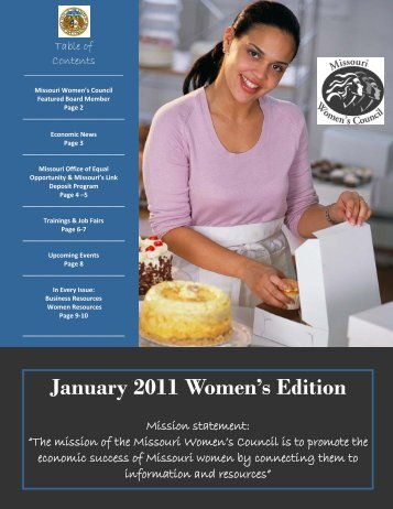September 2010 Women's Edition January 2011 Women's Edition