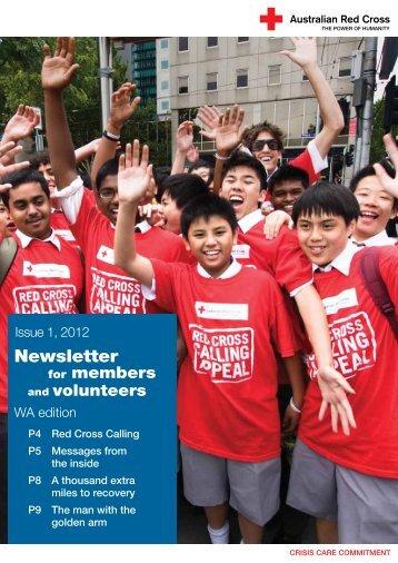 WA - Australian Red Cross