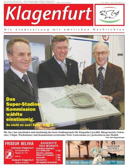 Das Super-Stadion. Kommission wählte einstimmig. - Klagenfurt