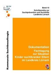 Schriftenreihe Band 10 - Sucht-loerrach.de