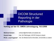 Einsatz von DICOM-SR in der Pathologie - Schoech.de