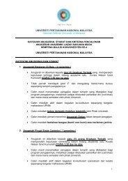 Syarat Permohonan - Universiti Pertahanan Nasional Malaysia ...