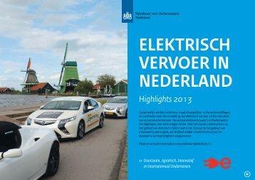 Elektrisch vervoer in Nederland - highlights_0