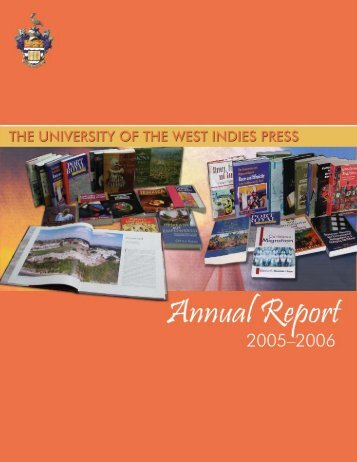 UWIPressAnnualReport2005-2006 (1).pdf - The University of the ...