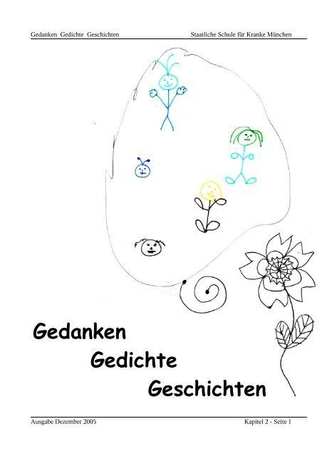 Gedanken Gedichte Geschichten Staatliche Schule Fã¼r