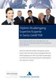 Diplom-Studiengang Expertin/Experte in Swiss GAAP FER