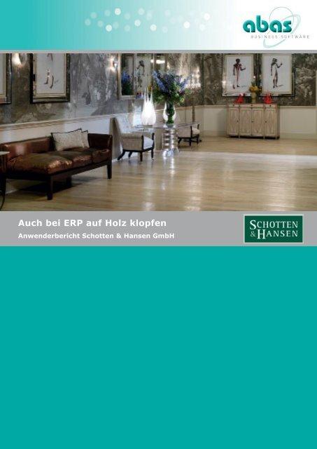 Auch bei ERP auf Holz klopfen - ABAS Software AG