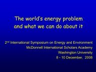 The world's energy problem and what we can do about it - mageep