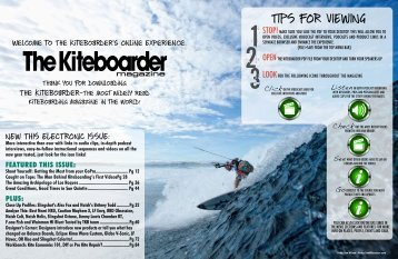 December 2009 - The Kiteboarder Magazine
