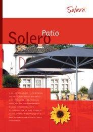 leaflet patio EN.indd - Solero Parasols