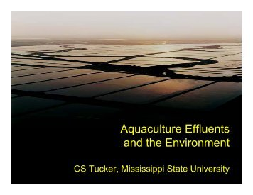Aquaculture Effluent and the Environment - NCAquaculture.org