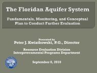B61 Floridan Aquifer Monitoring - P Kwiatkowski.pdf - South Florida ...