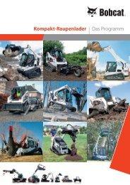 Broschüre Raupenlader - Leiser AG