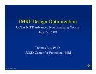 fMRI Design Optimization - Brainmapping.ORG