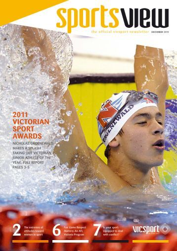 Sportsview December 2011 - VicSport