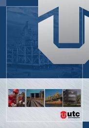 Folder UTC PARTICIPAÇÔES - UTC Engenharia