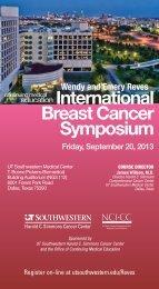 International BreastCancer Symposium - UT Southwestern
