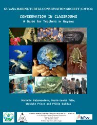 Conservation in Classrooms - WIDECAST